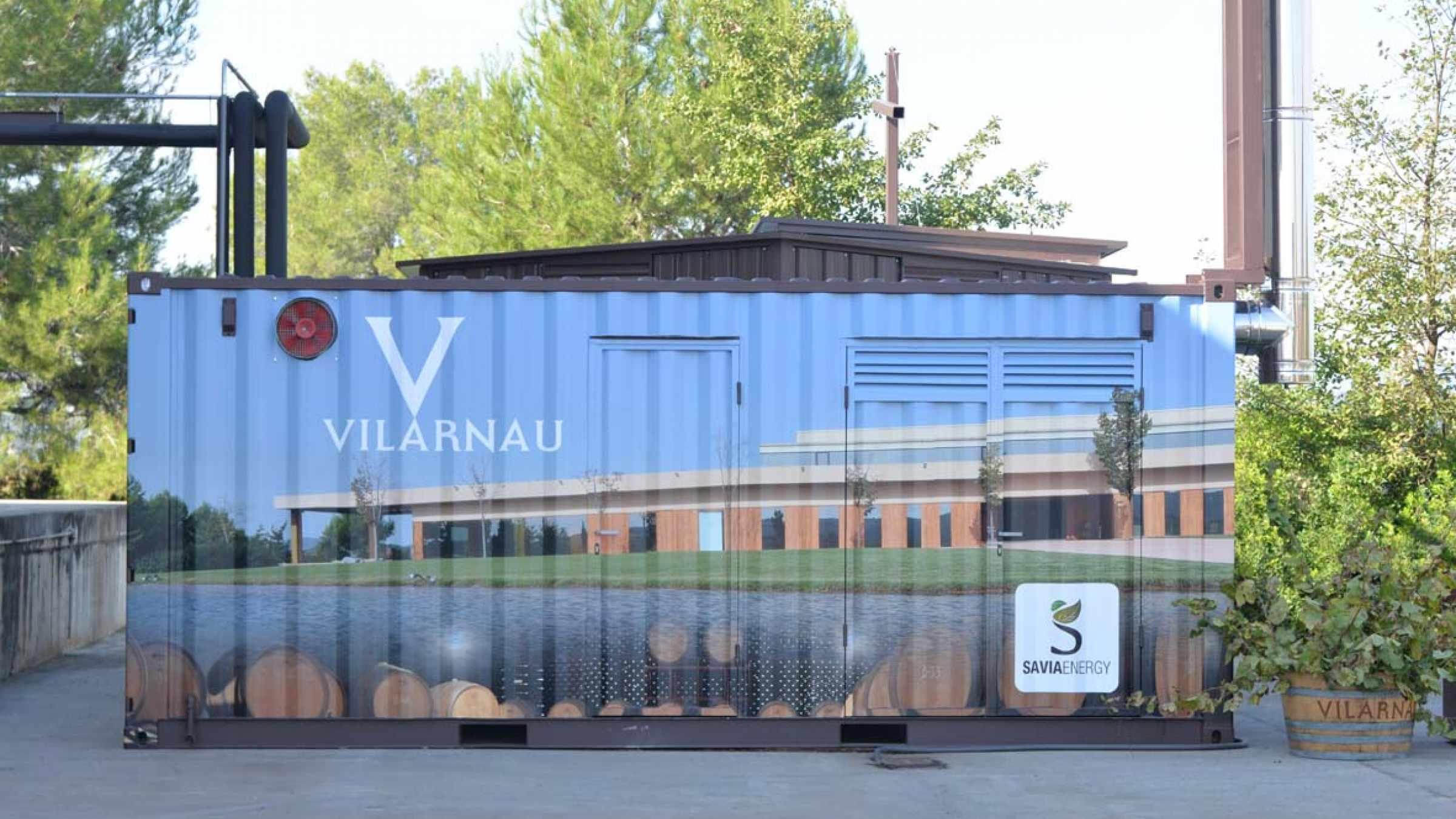 Vilarnau Sostenible - Caldera de Biomasa