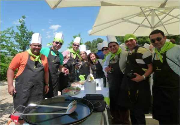 Visita Show cooking / Concurso de paellas / Taller de Tapas Vilarnau