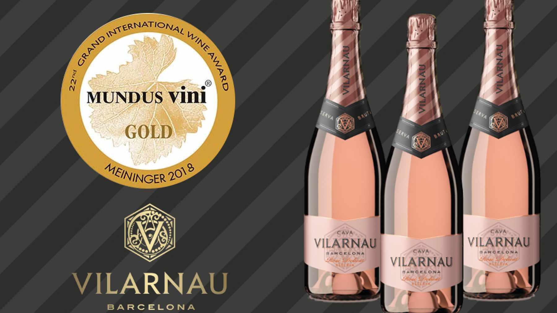 Mundus Vini Rosé Delicat Gold Medal