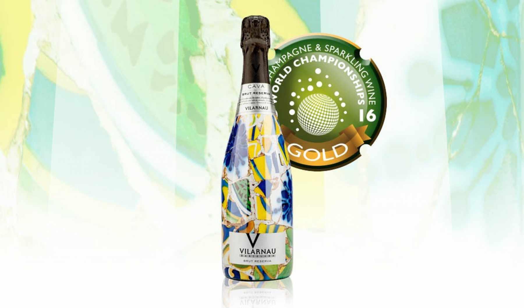 Gold Medal Vilarnau Brut Reserva Champagne & Sparkling Wine World Championships 2016